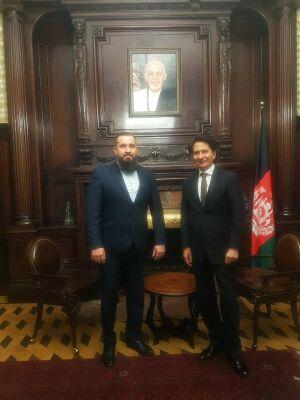 Новый глава дипмиссии Афганистана принял лидера татарстанского фонда мусульман