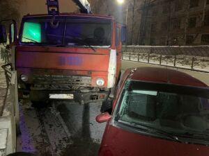 Пьяный казанец угнал «КАМАЗ» и устроил ДТП