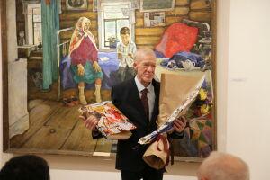 В Казани открылась выставка в честь 70-летия художника Зуфара Гимаева