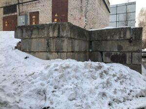 Благодаря прокуратуре отремонтировали подпорные стены жилого дома в Казани