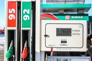 За последнюю неделю 92-й бензин в Татарстане подорожал на 12 копеек