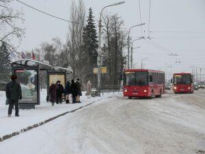 В Казани изменили схему движения общественного транспорта по улице Фучика