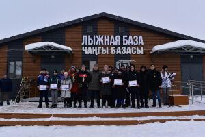 В Алексеевском районе состоялось торжественное открытие лыжного сезона