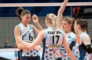Волейболистки «Динамо-Ак Барса» обыграли в трех сетах «Заречье-Одинцово»