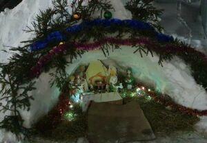 В Чистопольской епархии наградили победителей конкурса рождественских вертепов