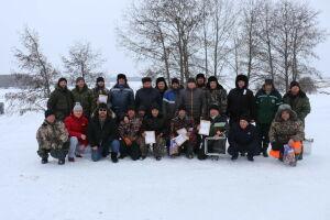 В Алькеевском районе выявили лучших рыбаков зимнего сезона