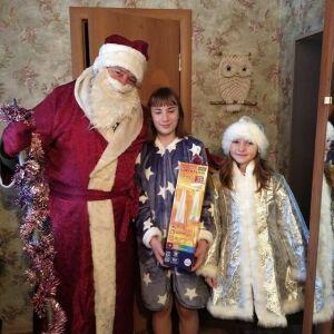 В Спасском районе исполнили новогодние мечты двух девочек