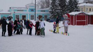 Елабужан приглашают в парк «Чебурашка» на праздник «Под рождественской звездой»