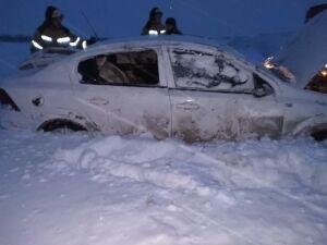Водитель чудом не пострадал, несколько раз перевернувшись на авто в РТ