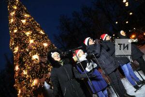 Рождественская «Атмосфера»: казанский ансамбль провел концерт в парке Горького