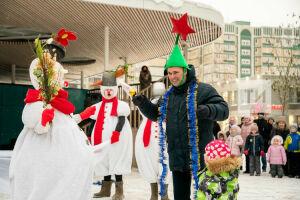 Казанцев приглашают на уличные спектакли и мастер-класс по фигурному катанию