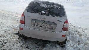 Две женщины пострадали в лобовом столкновении двух авто на трассе в РТ