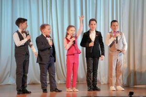 На зимней смене фестиваля «Созвездие-Йолдызлык» прошел рождественский концерт