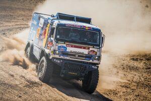 Пилот команды «КАМАЗ-мастер» Андрей Каргинов выиграл 5-й этап ралли «Дакар»