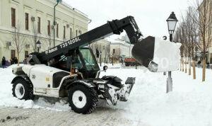 За сутки с улиц Казани вывезли свыше 9 тыс. тонн снега