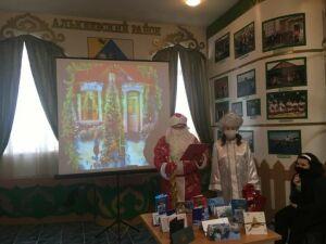 В музее Лисенкова в Базарных Матаках открыта выставка новогодних открыток