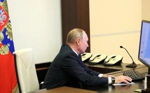 Путин онлайн принял участие во Всероссийской переписи населения