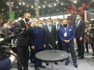 Президент Татарстана ознакомился с достижениями АПК на выставке «ТатАгроЭкспо»