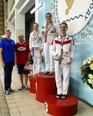Казанцы завоевали первые медали нового сезона на Кубке РФ по прыжкам в воду