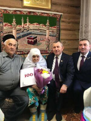Жительница Мамадышского района отметила вековой юбилей