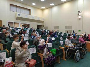 В обществе инвалидов Чистополя переизбрали председателя