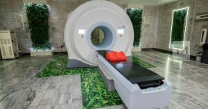 В инфекционной больнице Челнов заработал новый компьютерный томограф
