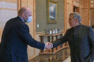 Рустам Минниханов обсудил с Алексеем Лященко развитие исламского банкинга