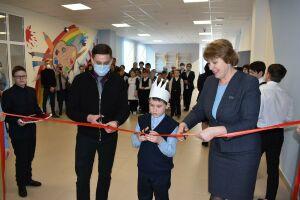 В двух школах Алексеевского района открыли шахматные зоны