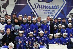 В Казани наградили воспитанников и тренеров «Динамо» за достижения в хоккее