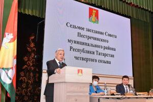Мухаметшин пообещал решить вопрос с инфраструктурой в Пестречинском районе РТ