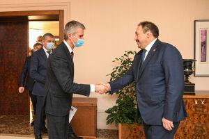 Песошин обсудил с главой «РИТЭК» развитие деятельности компании в Татарстане