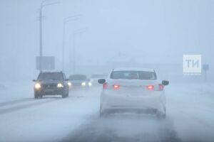 ГИБДД Татарстана просит водителей остаться дома в грядущую метель