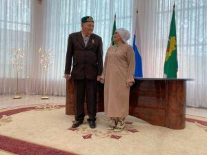 В Мамадыше поженились 81-летний жених и 65-летняя невеста