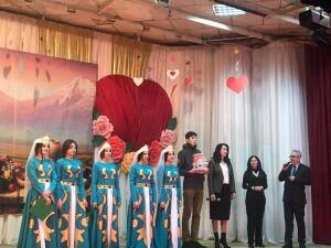 В Челнах представители армянской общины разожгли костер в честь Дня влюбленных