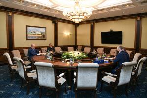 Минниханов и Соловейчик обсудили продвижение дзюдо в Татарстане