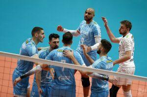 Пятая подряд победа вывела волейбольный клуб «Зенит-Казань» на третье место