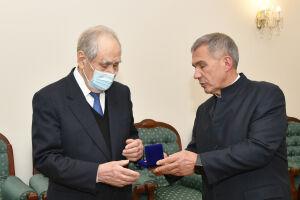 Шаймиев стал почетным членом Всероссийской организации «Боевое братство»