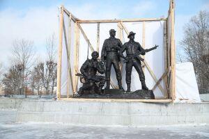 В Казани представили памятник воинам-интернационалистам