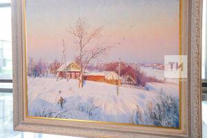 Зима в живописи и фото: в Казани открыли выставку Союза художников и фотомастеров