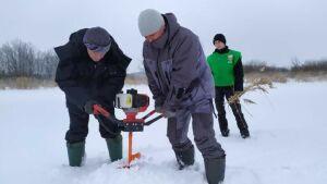На реке Прость в Чистополе провели операцию по спасению рыбы