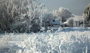 В Татарстане на выходных сохранятся аномальные морозы