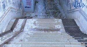 Альметьевцы пожаловались на травмоопасный подземный переход