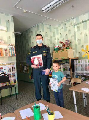Трехлетний мальчик из РТ стал победителем всероссийского конкурса к 30-летию МЧС