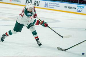 Форвард «Ак Барса» вышел на второе место в списке лучших снайперов КХЛ