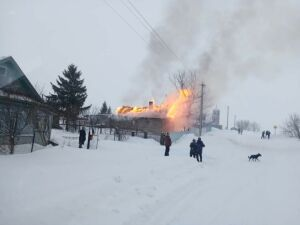 На пожаре в татарстанском селе погиб одинокий мужчина