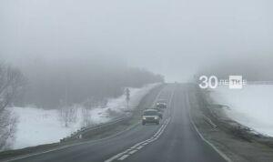 Трассу М5 в Татарстане вновь открыли для автобусов и большегрузов