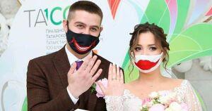 Жителям Нижнекамска разрешили жениться без масок