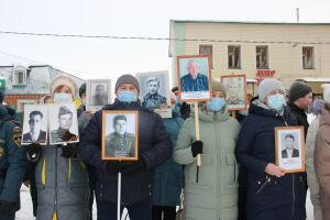 В Тетюшах почтили память сражавшихся за Сталинград земляков