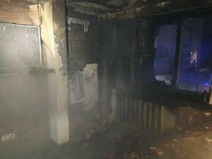 В Зеленодольске пожарные спасли пятерых человек из пожара в жилом доме