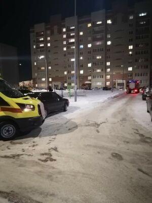 Ребенок пострадал на пожаре в елабужской высотке